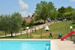 Park and swimming pool